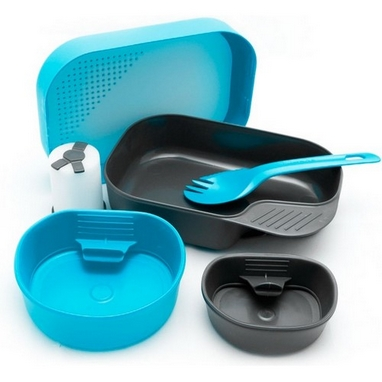 Набор посуды Wildo Camp-A-Box Complete light blue W102633