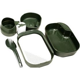 Фото 2 к товару Набор посуды Wildo Camp-A-Box Complete olive green W10264