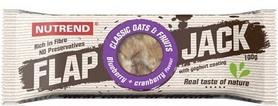 Батончик протеиновый Nutrend Flap Jack 100 г (черника+клюква в йогурте)