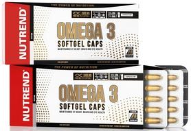 Фото 1 к товару Витамины Nutrend Omega 3 Softgel Caps 120 caps