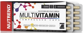 Фото 2 к товару Витамины Nutrend Multivitamin Compressed Caps 60 caps