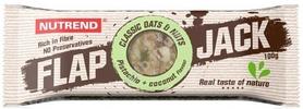 Фото 1 к товару Батончик протеиновый Nutrend Flap Jack 100 г (фисташка+кокос)