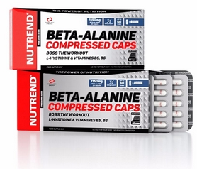 Добавка пищевая Nutrend Beta-Alanine Compressed Caps 90 caps