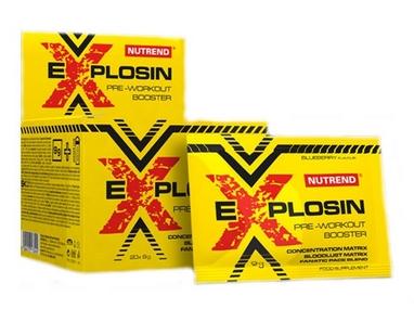 Комплекс предтренировочный Nutrend Explosin 20x9 г черника