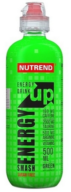 Напиток энергетический Nutrend Smash Energy Up 500 мл green