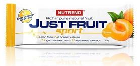 Фото 1 к товару Батончик энергетический Nutrend Just Fruit Sport 70 g абрикос
