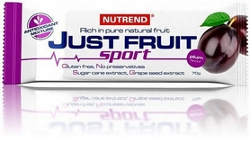 Батончик энергетический Nutrend Just Fruit Sport 70 g слива
