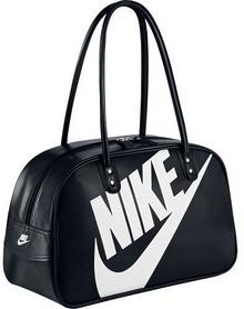 Сумка женская Nike Heritage Si Shoulder Club черная