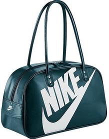 Фото 1 к товару Сумка женская Nike Heritage Si Shoulder Club бирюзово-синяя