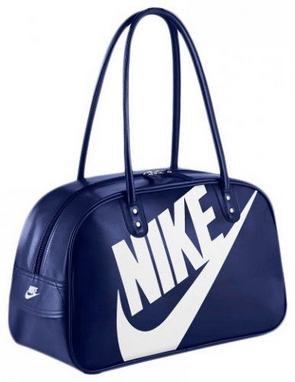 Сумка женская Nike Heritage Si Shoulder Club темно-синяя