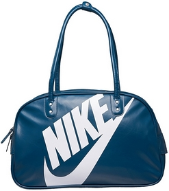 Фото 2 к товару Сумка женская Nike Heritage Si Shoulder Club бирюзово-синяя
