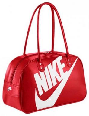 Сумка женская Nike Heritage Si Shoulder Club красная