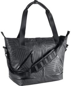 Фото 2 к товару Сумка женская Nike Formflux Tote черная в полоску
