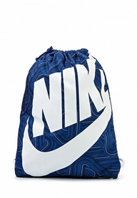 Фото 1 к товару Рюкзак для обуви Nike Heritage Se Gymsack синий