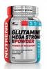 Аминокислоты Nutrend Glutamine Mega Strong Powder 500 г (пунш+клюква) - фото 1