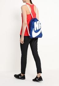 Фото 4 к товару Рюкзак для обуви Nike Heritage Se Gymsack синий