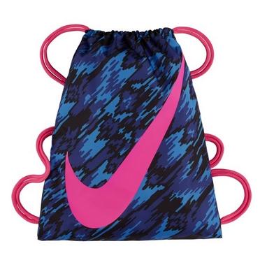 Рюкзак спортивный Nike Ya Graphic Gymsack синий