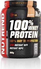 Протеин Nutrend 100% Whey Protein 900 г (клубника)