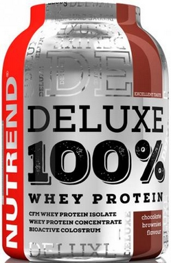 Протеин Nutrend Deluxe 100% Whey 2250 г (клубничный чизкейк)