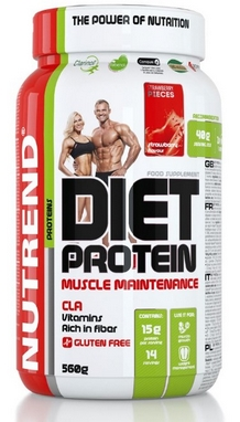Протеин Nutrend Diet Protein 560 г (банан)