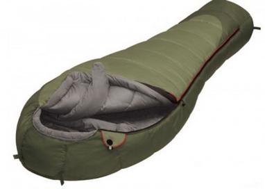 Спальный мешок (спальник) для треккинга Alexika Nord - right зеленый