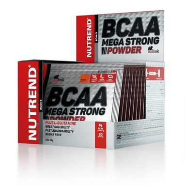 Аминокислоты Nutrend BCAA Mega Strong Powder 10 г (апельсин)