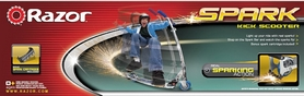 Фото 6 к товару Самокат складной Razor Spark Al blue с искрой