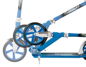 Фото 4 к товару Самокат складной Razor A5 Lux синий