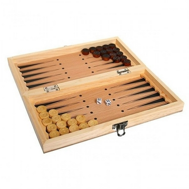 Нарды деревянные W7711 29x29 см