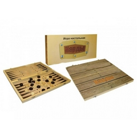 Фото 3 к товару Нарды деревянные W7711 29x29 см