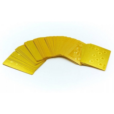 Карты игральные с пластиковым покрытием Gold 100 Dollar IG-4566-G(BR)