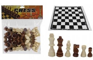 Фигуры для шахмат и игровое полотно IG-3104