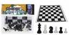 Фигуры для шахмат и игровое полотно IG-3103-Plast-Shahm - фото 1