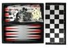 Набор настольных игр 3 в 1 магнитный (шахматы, шашки, нарды) SC56810 - фото 1
