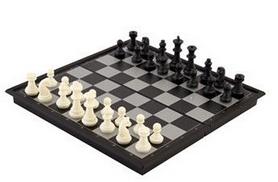Фото 3 к товару Набор настольных игр 3 в 1 магнитный (шахматы, шашки, нарды) SC56810