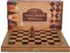 Набор настольных игр 3 в 1 (шахматы, шашки, нарды) 341-161 - фото 1