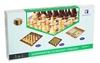 Набор настольных игр 3 в 1 (шахматы, шашки, нарды) W3015 - фото 1
