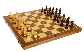 Фото 2 к товару Набор настольных игр 3 в 1 (шахматы, шашки, нарды) W3015