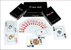 Карты игральные с пластиковым покрытием Poker Club IG-6010