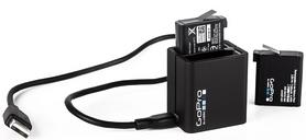 Фото 2 к товару Устройство зарядное GoPro Dual Battery Charger for HERO4 (AHBBP-401)