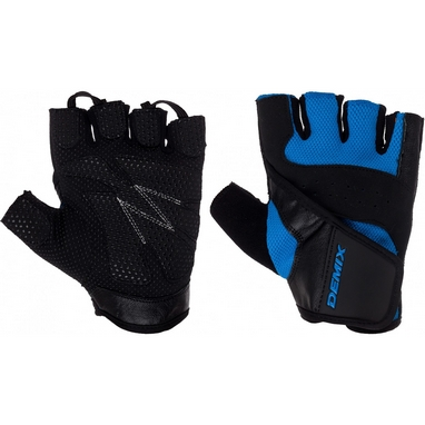 Перчатки для фитнеса Demix Fitness gloves D-310 синие L