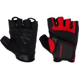 Распродажа*! Перчатки для фитнеса Demix Fitness gloves D-310 красные - M