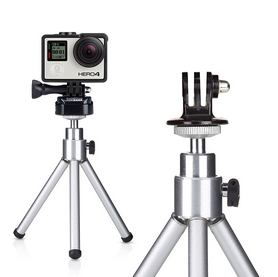 Фото 3 к товару Крепление GoPro Tripod Mount (including 3-Way Tripod) (ABQRT-002)