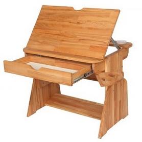 Фото 3 к товару Парта мольберт с выдвижным ящиком Абсолют мебель