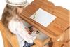 Парта мольберт с выдвижным ящиком Абсолют мебель
