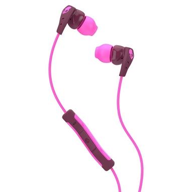 Наушники спортивные Skullcandy Method W/MIC1 Plum/Pink/Pink