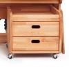 Ящичный блок на роликовых резиновых опорах Абсолют мебель YB 03 - фото 1