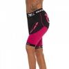 Шорты компрессионные женские Bad Boy Compression Shorts Black/Pink - фото 3