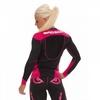 Рашгард женский с длинным рукавом Bad Boy Sphere Black/Pink - фото 3
