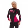 Рашгард женский с длинным рукавом Bad Boy Sphere Black/Pink - фото 4